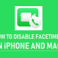 Cómo deshabilitar FaceTime en Mac y iPhone