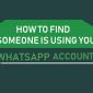 Cómo encontrar si alguien está usando tu cuenta de WhatsApp