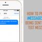 Cómo evitar que iMessages se envíen como mensajes de texto SMS