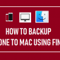 Cómo hacer una copia de seguridad de iPhone a Mac usando Finder
