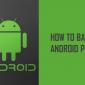 Cómo hacer una copia de seguridad de su teléfono o tableta Android