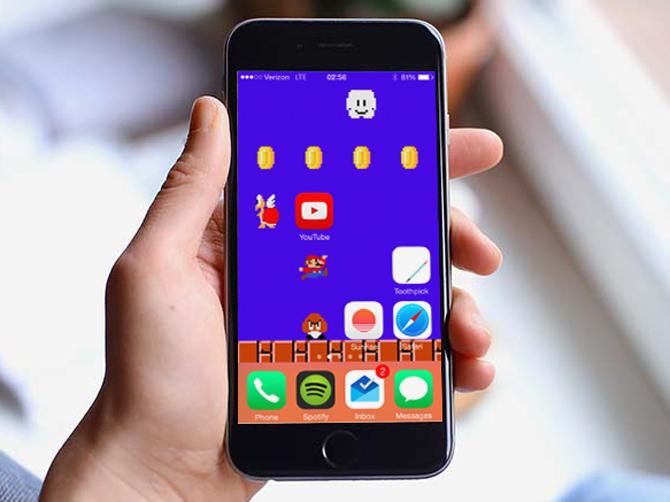 Kuinka räätälöidä iPhonen aloitusnäyttö ilman Jailbreakia