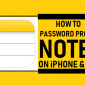 Cómo proteger con contraseña las notas en iPhone y iPad