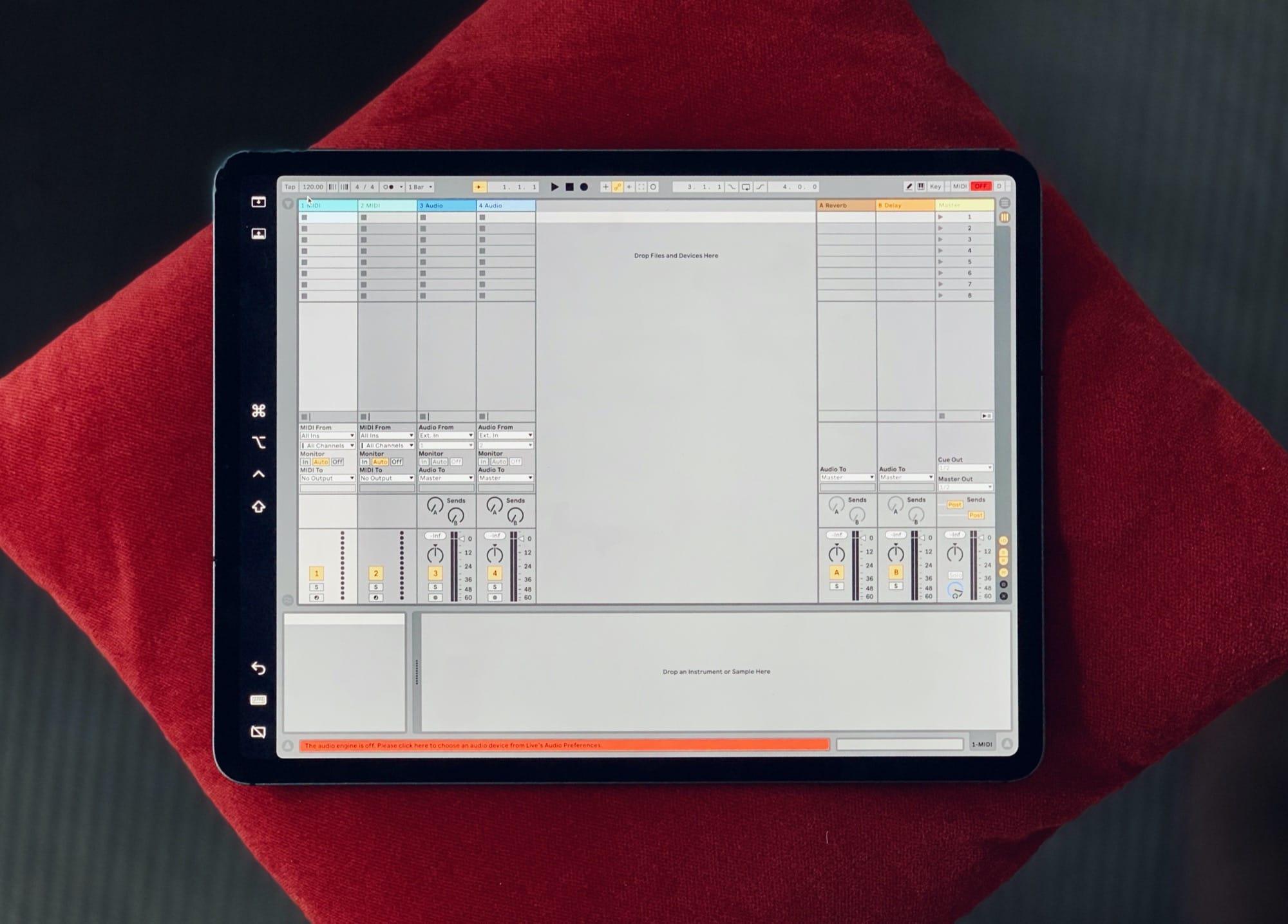 Kuinka käyttää Ableton Live- tai Logic Pro X -laitetta iPadillasi
