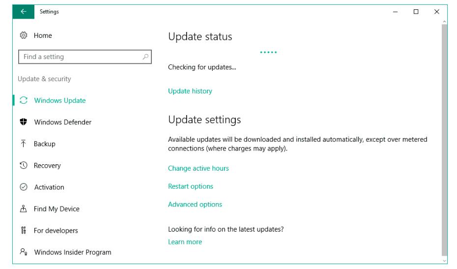 Actualizar controladores usando Windows Actualizar