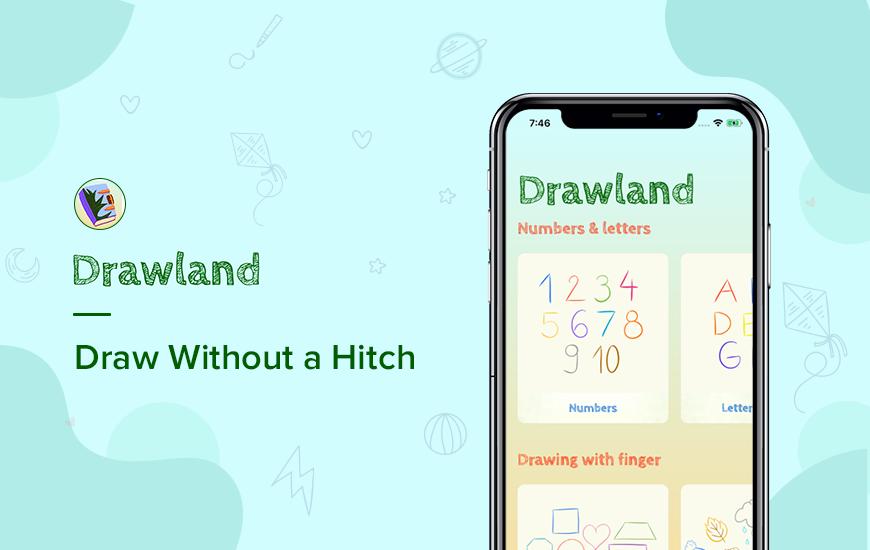 Drawland App: Hauska opastettu piirustus lapsille