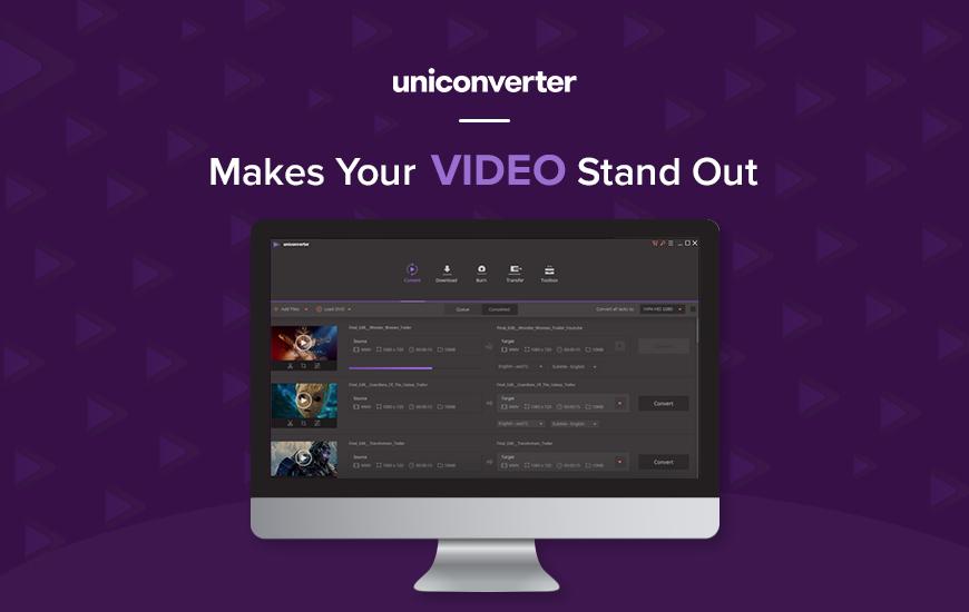 La edición de video es fácil con UniConverter