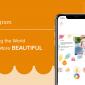 Intercambie hermosas postales con fotos con la aplicación Postagram