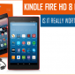 Kindle Fire HD 8 revisión