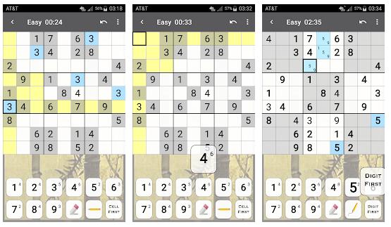 Parhaat Sudoku-sovellukset Androidille / iPhonelle