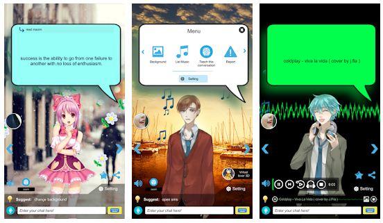 Paras virtuaaliystäväsovellus Androidille