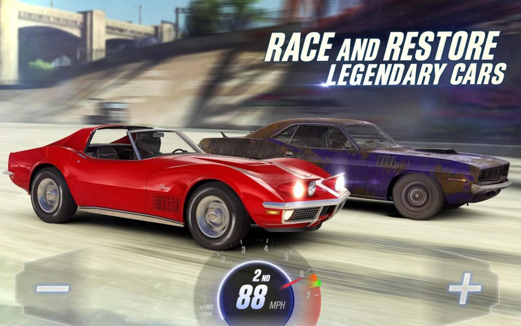CSR Racing 2 - Mejor juego de carreras