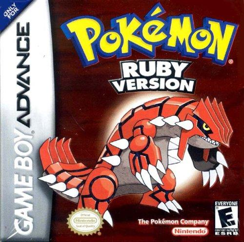 Pokemon  Ruby and Sapphire - Mejor juego de rol GBA