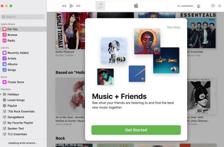 Cómo ver lo que escuchan tus amigos Apple Música