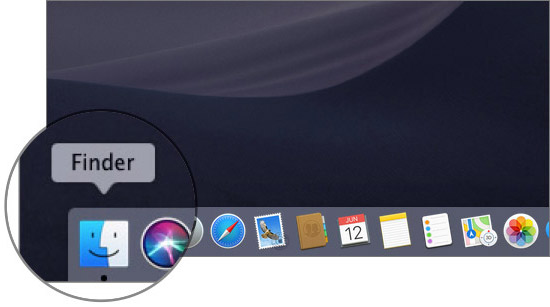 Abrir Finder en Mac