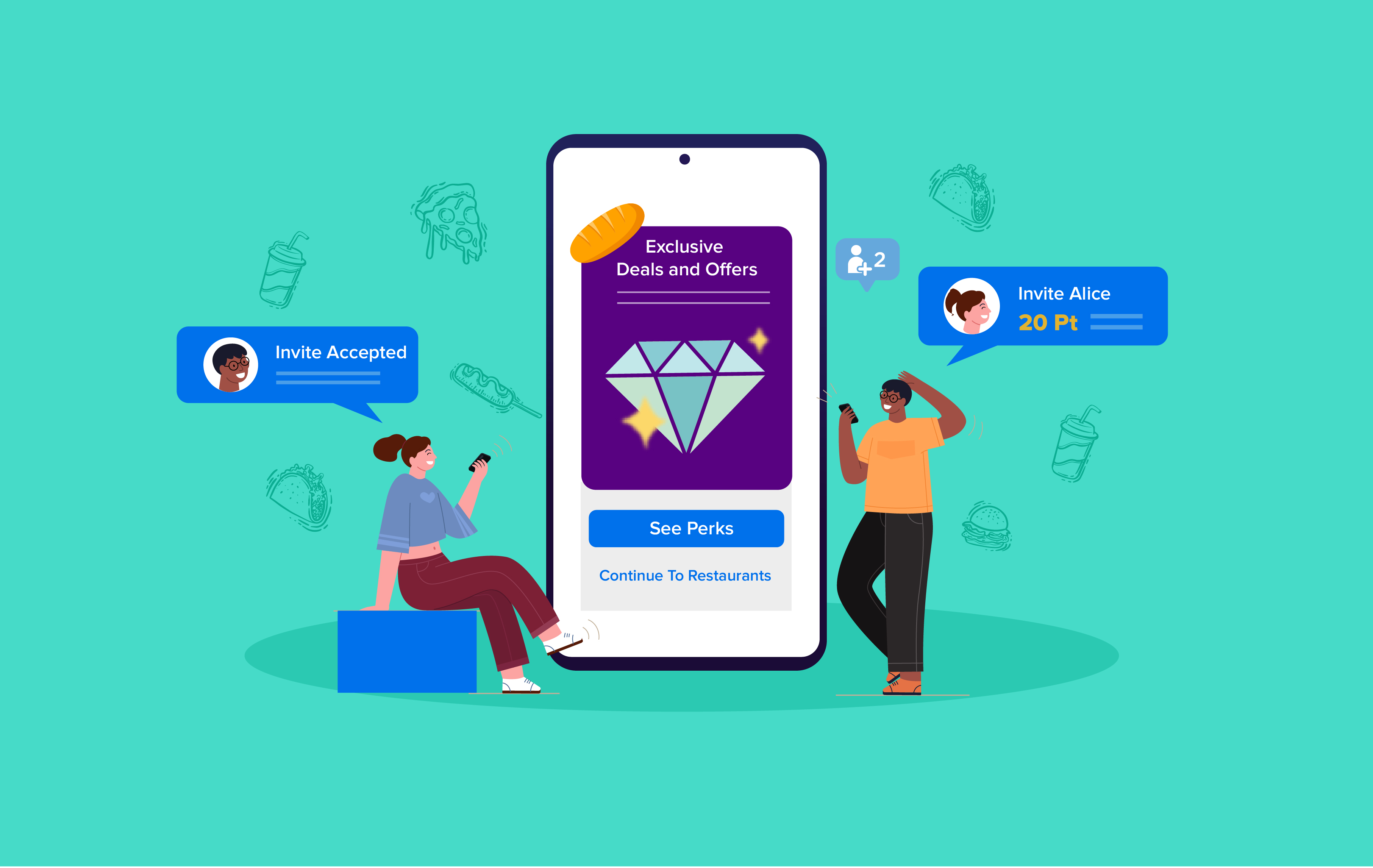 How to Retain Food Delivery App Customers with Loyalty Programs?