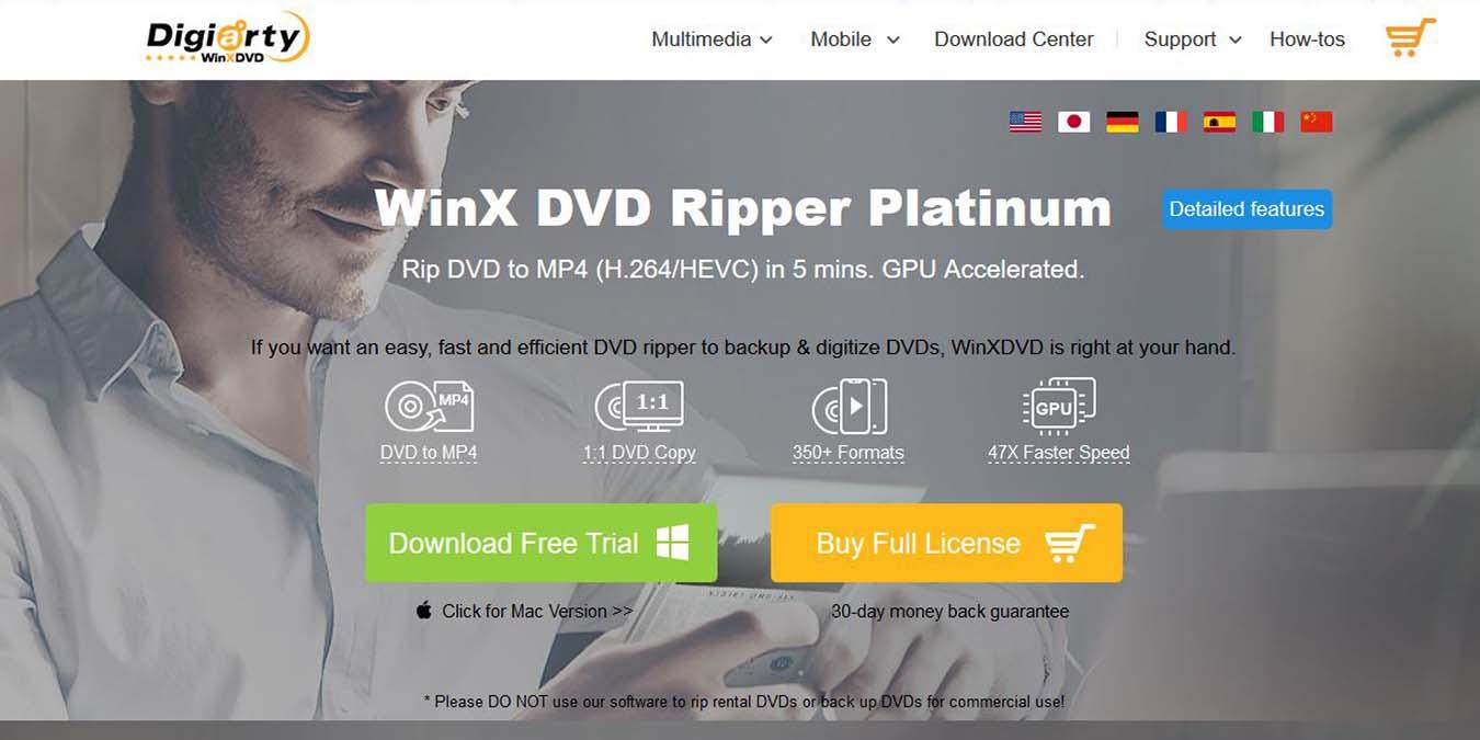 Kopioi elokuvia entistä nopeammin uuden Winx DVD Ripper -sovelluksen avulla …