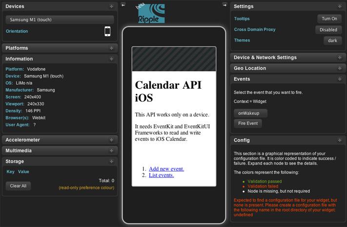 Ripple iOS Emulator para Windows y Mac