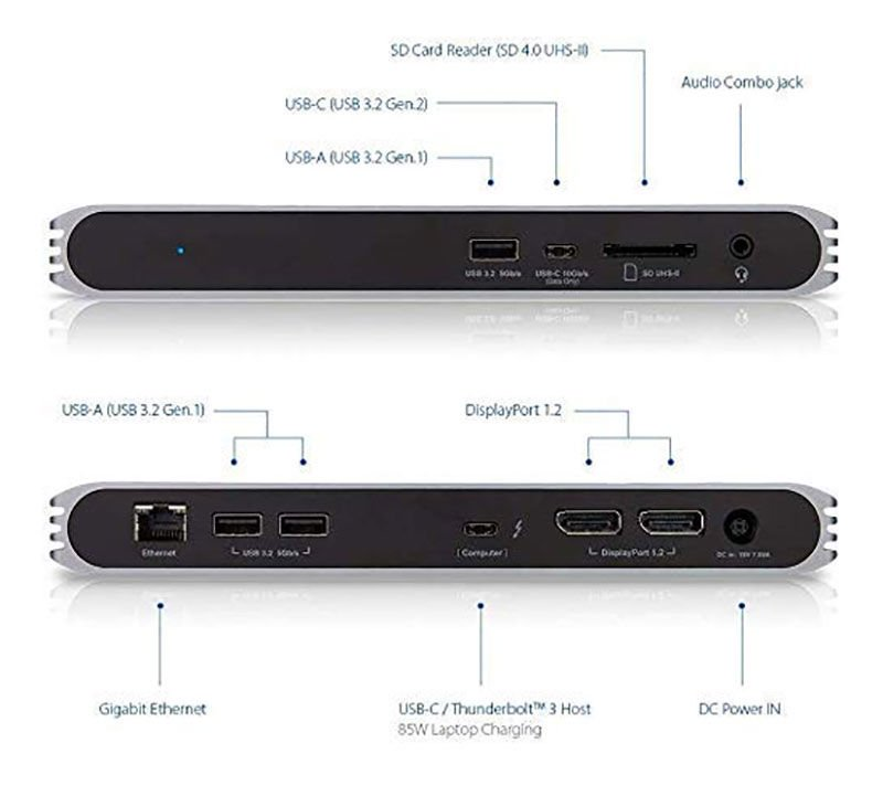 Dock Caldigit USB-C Pro