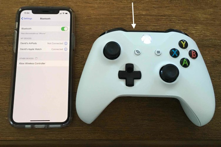 conecta el iphone al controlador xbox one