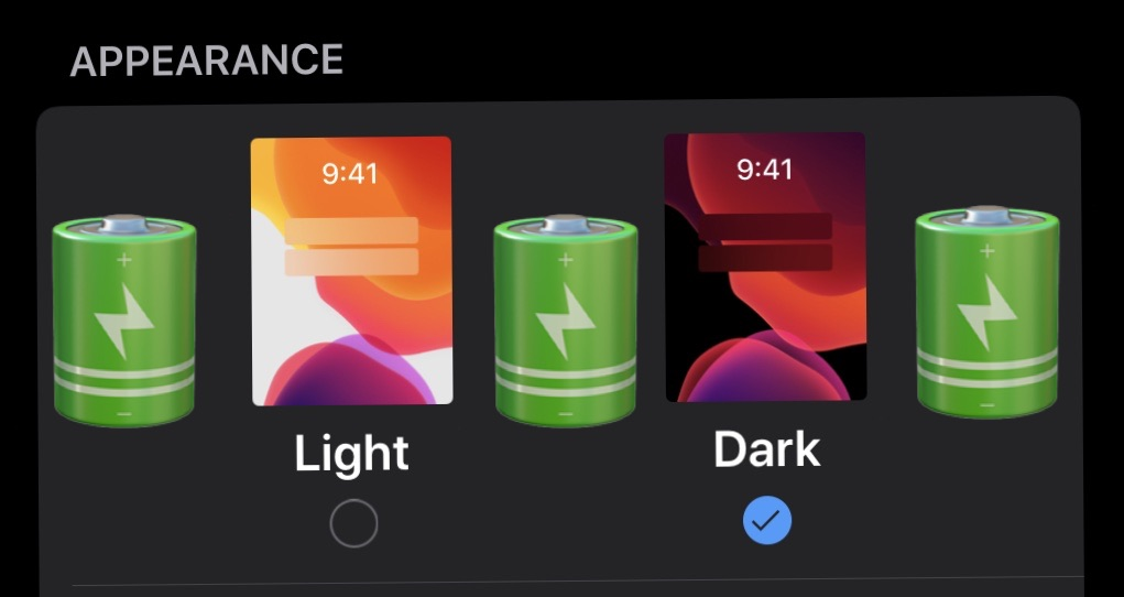 Dark mode might extend battery life on OLED iPhone models
