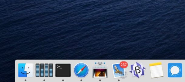 Cómo eliminar íconos de aplicaciones de Mac Dock