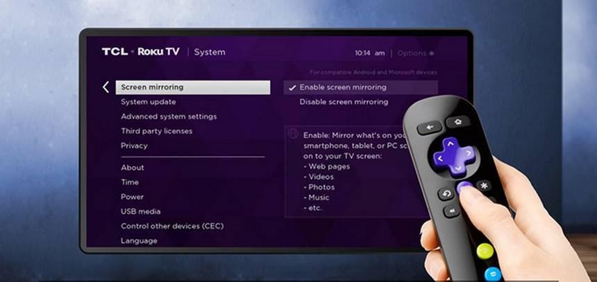 Usar Kodi En Tu Dispositivo Roku 2020, How To Enable Screen Mirroring On Tcl Tv