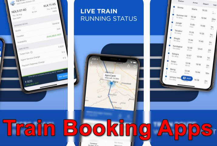 Aplicaciones de reserva de trenes