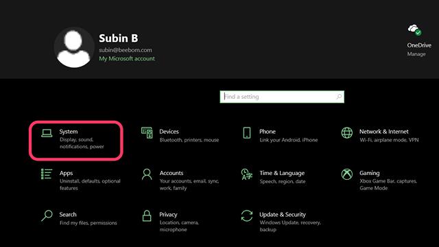 Obtenez Windows Redémarrez le son dans Windows 10 - 1