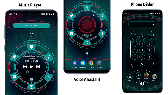 Captura de pantalla de Alpha Hybrid Launcher Prime