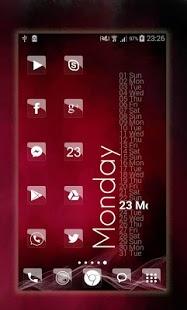 Captura de pantalla de Elite Glass Nova Theme HD