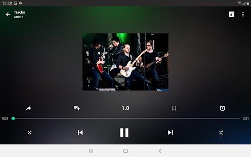 Captura de pantalla de ET Music Player Pro