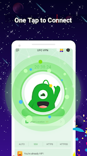 UFO VPN Basic: VPN gratis Proxy Captura de pantalla de Master & Secure WiFi