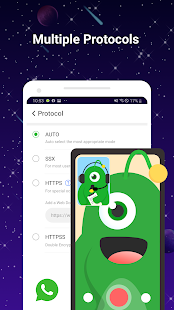 UFO VPN Basic: VPN gratis Proxy Captura de pantalla de Master & Secure WiFi