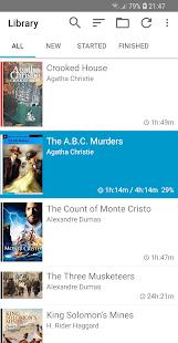 Captura de pantalla de Smart AudioBook Player