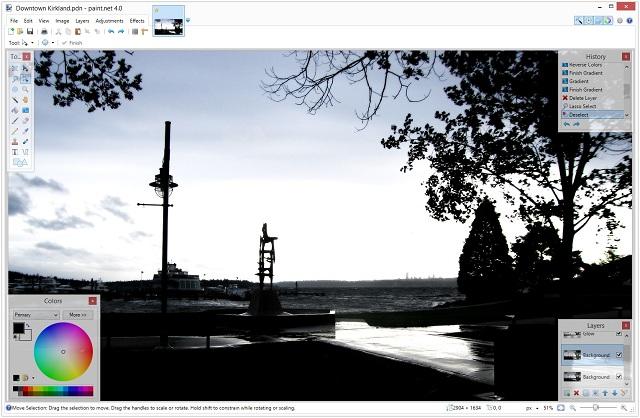 Paint - el mejor software de edición de fotos