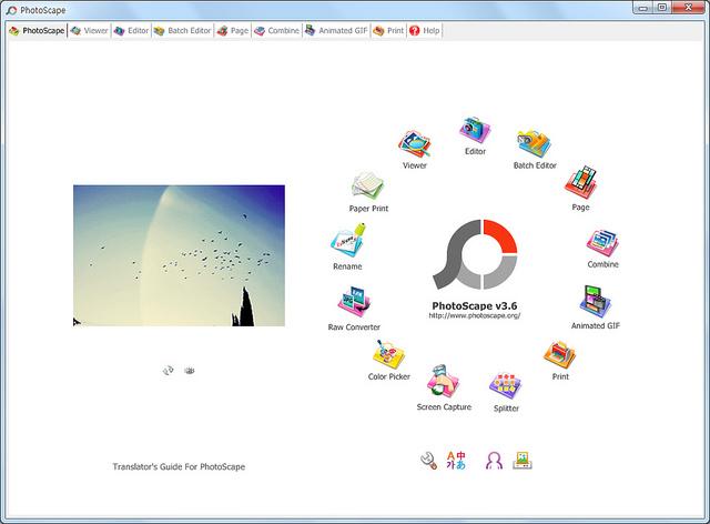 photoscape - el mejor software de edición de fotos
