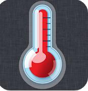 Aplicaciones de termómetro para Android / iPhone