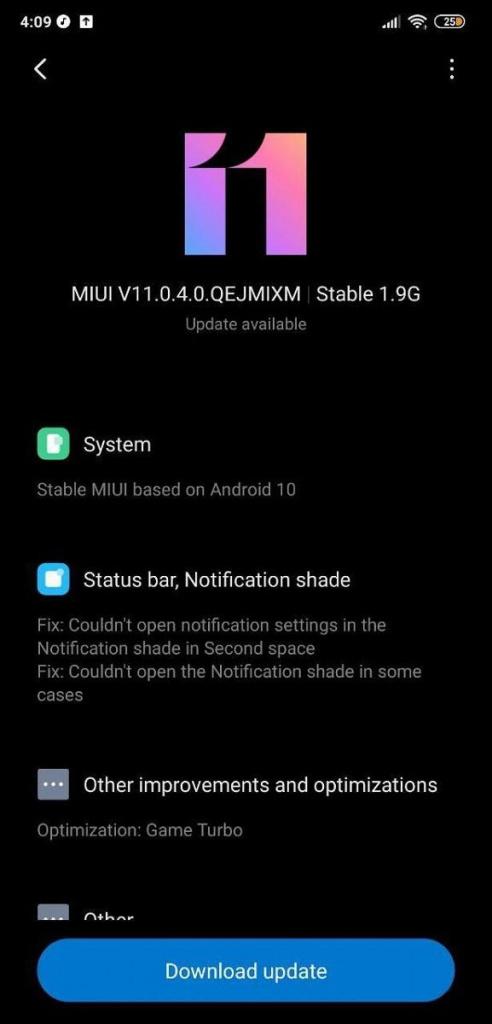 Pocophone MIUI 11 Android 10 Xiaomi smartphones