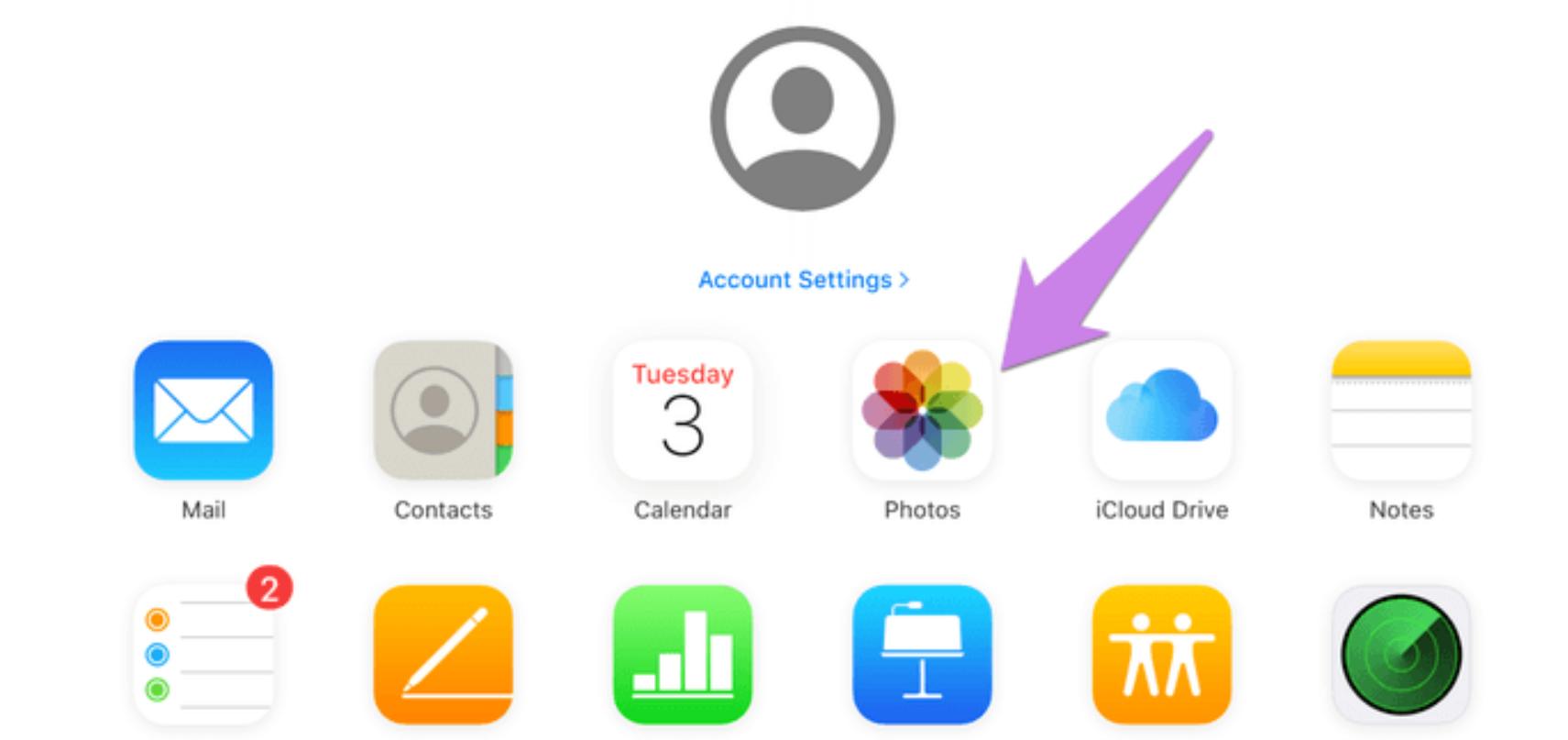 Cách chuyển Google Photos sang iCloud