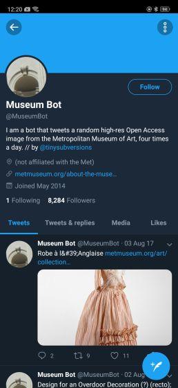 7. @MuseumBot