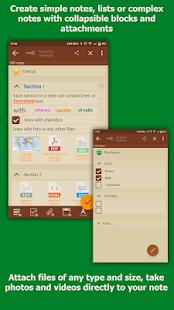 Notas VIP - Bloc de notas protegido con archivos adjuntos Captura de pantalla