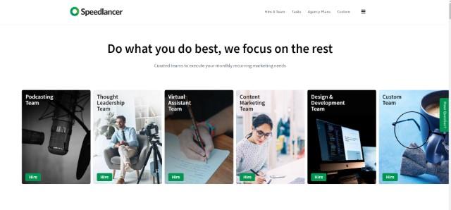 Sppedlancer - Los mejores sitios web independientes
