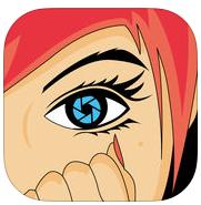 La mejor foto para la aplicación de imagen de dibujos animados de iPhone