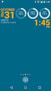 Captura de pantalla de KLWP Live Wallpaper Maker