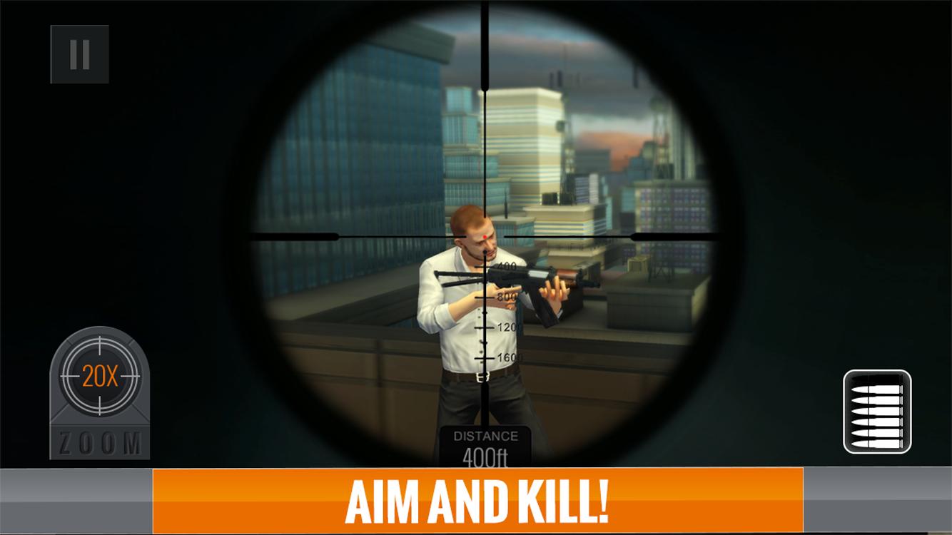 Juegos gratis de Sniper 3D Assassin 1-3