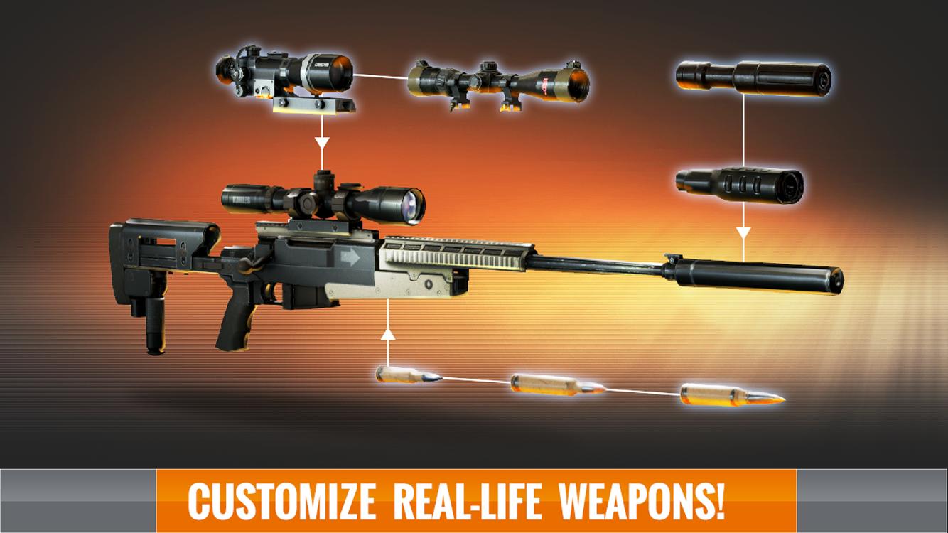 Juegos gratis de Sniper 3D Assassin 1-4