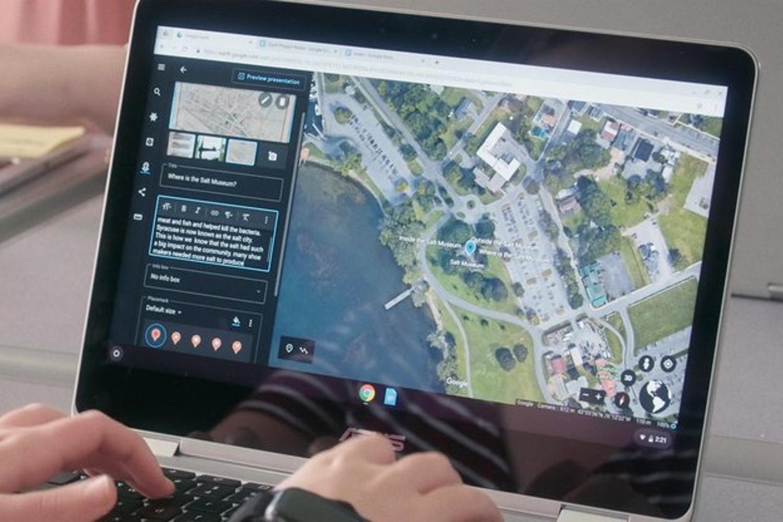 Presentaciones en 3D y mapas personalizados con Google Earth