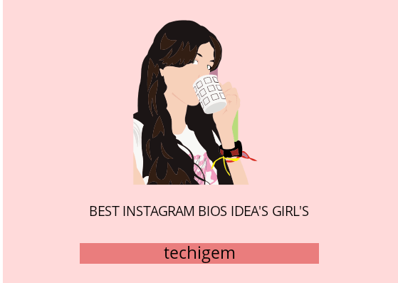 instagram bios idea's girls