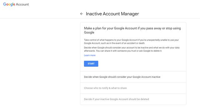 Kako automatski izbrisati svoj Google račun 1